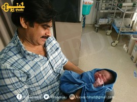 Powerstar Pawan Kalyan's wife Anna Lezhneva has given birth to the beautiful boy baby today morning (10th Oct).