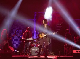 The first look of actor Karan V Grover in the role of a rockstar in Vikram Bhatt's web series