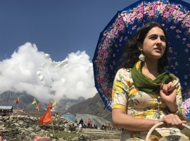 The month long first schedule of Kedarnath is complete having shot in the most divine locations of the temple town. Abhishek Kapoor (fondly called Gattu), has now moved base to good ol' Mumbai. He along with team KriArj are now looking forward to preparations for one of the biggest launching for Sara Ali Khan, as its her debut film. The film also stars Sushant Singh Rajput. KEDARNATH 's first shoot schedule is now complete and it is produced by T-Series, KriArj Entertainment, in association with Balaji Motion Pictures. Its a Guy In The Sky Pictures Production.