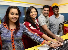 Telugu movie Good Bad Ugly song launched at Radio Mirchi. Celebs like Harsha Vardhan and Srimukhi graced the event.