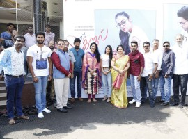 Tamil movie 100 Percent Kadhal launched today in Chennai. Celebs like G.V. Prakash Kumar, Director M.M. Chandramouli, Shalini Pandey, P. Bharathiraja, Devi Sri Prasad, Nikil murugan and others graced the event.