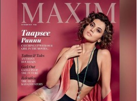 Taapsee Pannu has always grabbed the limelight for her fashion style. The actress has also balanced out her mainstream commercial career in Bollywood with a potboiler blockbuster. Taapsee looks radiating in the cover shoot for Maxim's October issue.