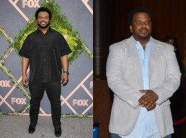 Actor-comedian Craig Robinson says he lost 50 pounds after quitting alcohol and turning vegan. The 45-year-old actor spoke with Harry Connick Jr on his talk show about how he lost