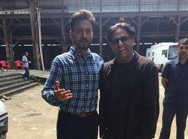 Irrfan Khan is ready for his international project Doob releasing this October in Bangladesh and also recently launched the trailer of his rom-com Qarib Qarib Single. These two maestri were seen shooting for an ad film earlier this week in Film city.