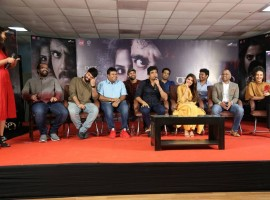 Telugu Movie Raju Gari Gadhi 2 Press Meet held at Hyderabad. Celebs like Akkineni Nagarjuna, Samantha, Seerat Kapoor graced the event.