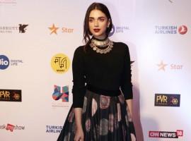 Aditi Rao Hydari spotted at Jio Mami Film Festival 2017.
