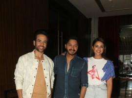 Tushar Kapoor and Parineeti Chopra promote Golmaal Again at hotel Novotel