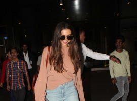 Deepika Padukone spotted at airport.