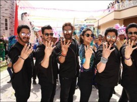 Golmaal is an Bollywood film directed and co-produced by Rohit Shetty.