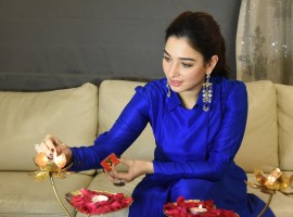 Actress Tamannaah's Diwali special Photo Shoot.