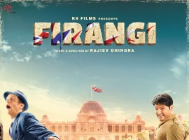 The makers unveiled the first look poster of Firangi movie starring Firangi, Ishita Dutta and Monica Gill in the lead roles.
