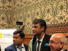 South Indian actor Darshan recieves Award from British Parliament