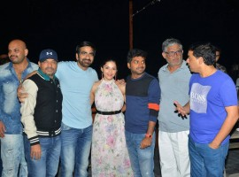 Telugu movie Raja The Great success meet held in Hyderabad. Celebs like Ravi Teja and Mehrene Kaur Pirzada graced the event.