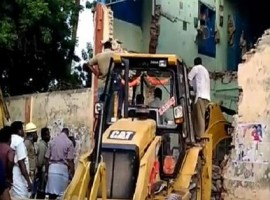 Eight employees of the Tamil Nadu state transport corporation died while three were injured early on Friday when the roof of an old bus stand in Nagapattinam district collapsed, said police. The employees were sleeping in the rest room of the Poraiyar bus stand. The injured were taken to a hospital where their condition is said to be serious. Nagapattinam is around 320 km from here.