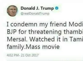 Thalapathy Vijay's Mersal meme.