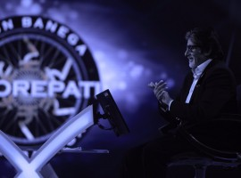 Bollywood megastar Amitabh Bachchan has finished shooting for reality game show