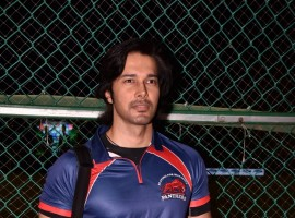 Actor Rajneesh Duggal at Celebrity Cricket Match Ink Cricket Blast 2017 in Mumbai on Oct 21, 2017.