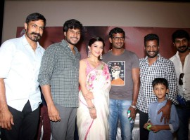 Nenjil Thunivirunthal trailer launch held in Chennai. Celebs like Sundeep Kishan, Mehreen Pirzada, Vishal, D Imman, Aruldoss and others graced the event.
