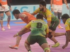 The twist was stored for the dying stages of the match when defending champions Patna made a stunning comeback, scoring 18 points in the last six minutes to turn the tide in their favour. Patna skipper Pardeep Narwal was sensational yet again as he scored 19 points to lead his team to victory. Pune crumbled under pressure and lost their nerve as their campaign came to a disappointing end. Deepak Niwas Hooda scored nine points but couldn't deliver when it mattered the most for his team.