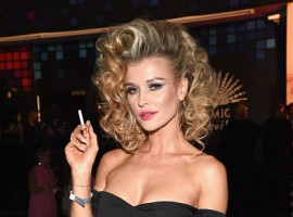 Joanna Krupa attends Casamigos Halloween Party.