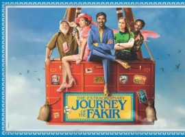 The first look poster of Dhanush-starrer The Extraordinary Journey of the Fakir is released on Wednesday, November 1. The movie is directed by Ken Scott.