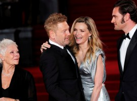 Michelle Pfeiffer, Kenneth Branagh, Tom Bateman and Judi Dench arrive at the world premiere of