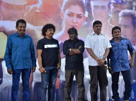 Tamil movie Aramm press meet held at Chennai. Director Gopi Nainar, E Ramadoss, Raja Rani Pandian, Cinematographer Om Prakash graced at the event.