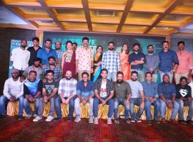 Telugu movie PSV Garuda Vega success meet held at Hyderabad. Celebs like Rajasekhar, Pooja Kumar, Shraddha Das, Jeevitha, Dharmendra Kakarala, Director Praveen Sattaru graced the event.