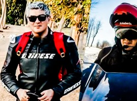 Exclusive images of Thala Ajith during Vivegam shooting days.