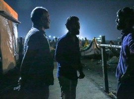 Dhanush on Wednesday night shared a photograph from the film's set and captioned it: