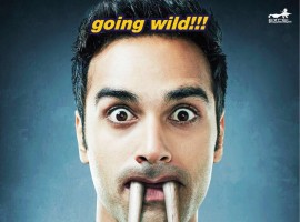 Hunny's poster has huge teeth like Walrus, with the tagline of 'going wild'.