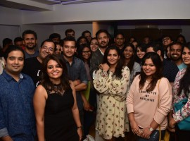 Some lucky singles got a chance to attend a special preview of the Irrfan Khan - Parvathy starrer 'Qarib Qarib Singlle' even before it's release.  Irrfan and Parvathy attended the screening and interacted with all the 'Qarib Qarib Singlles' at the event. Everyone were all smiles as they clicked pictures and got candid with the stars.