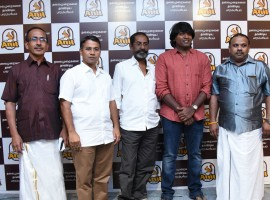 Actor Vijay Sethupathi releases Anil Foods New Logo in Chennai.
