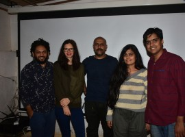Actress Kalki Koechlin and singer Vishal Dadlani were invited as the special guests to watch the political thriller by producer Anand Gandhi and directors Khushboo Ranka and Vinay Shukla. Kalki and Vishal were amazed by the brilliant film and praised the team for their hardwork. The film was appreciated by a standing ovation by the duo.