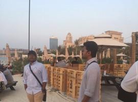 The core Mersal team is in Dubai (week-long trip plan) to celebrate their grand success of Mersal movie.