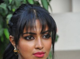 Actress Amala Paul attended Dongodochadu Movie Press Meet.