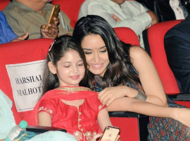 The actress who has time and again showcased her fondness for the little one's took to opportunity of Children's day to spend some time with the children throughout the day. Earlier in the day, Shraddha Kapoor visited the municipal school in Prabhadevi and spent quality time, indulging in some origami as well as chit-chatting with them.
