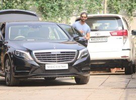 Shahid Kapoor spotted at Reset Gym.