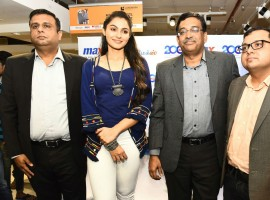 Tamil Actress Andrea Jeremiah launches 200th Max Fashion India Showroom.