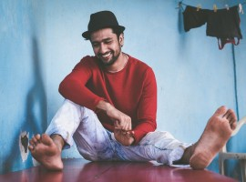 Actor Vicky Kaushal latest pics.