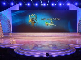 The STAGE is Ready for Miss World 2017.