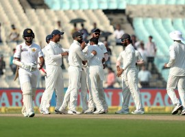 Virat Kohli authored a captains knock of 104 not out while Bhuvneshwar Kumar returned spectacular figures of 11-8-8-4 as India narrowly missed a spectacular win when the first Test match against Sri Lanka ended in a draw at the Eden Gardens here on Monday.