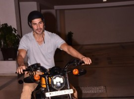 Dino Morea spotted at Tushar Chopra birthday celebration.