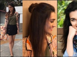 Casuals at its best: The Bareilly Ki Barfi star Kriti Sanon is surely slaying her looks with these casual hairdos, giving some serious hair goals to all the young girls out there. The half bun style or the messy ponytail, Kriti has set trends in a casual.