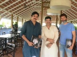 Pawan Kalyan and Trivikram Srinivas launches Mana Akkineni book which is written by Sanjay Kishore.