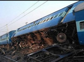 At least three passengers were killed and over seven others injured after 13 coaches of the Vasco Da Gama-Patna express derailed on Friday near Manikpur in Uttar Pradesh, railways officials said. The accident occurred at the Manikpur station in Chitrakoot district at 4.18 a.m.