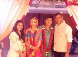 Waaris fame actor Siddhaanth Vir Surryavanshi gets married to model Alesia Raut.