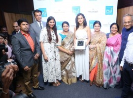 Actress Taapsee Pannu launches Forevermark diamond collection at PMJ Jewels.