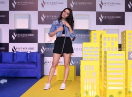 Shraddha Kapoor graces the launch of Sketchers Street party.