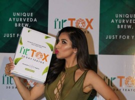 Singer, Actor and VJ Sophie Choudry launches her TEA brand Fittox.